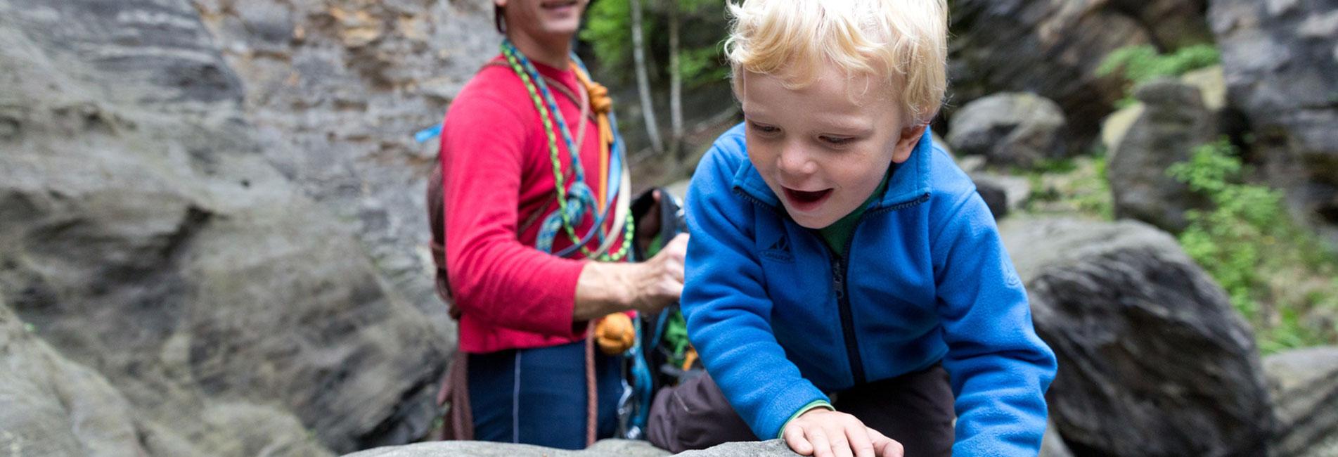 Klettertour - romantisches Gipfelerlebnis