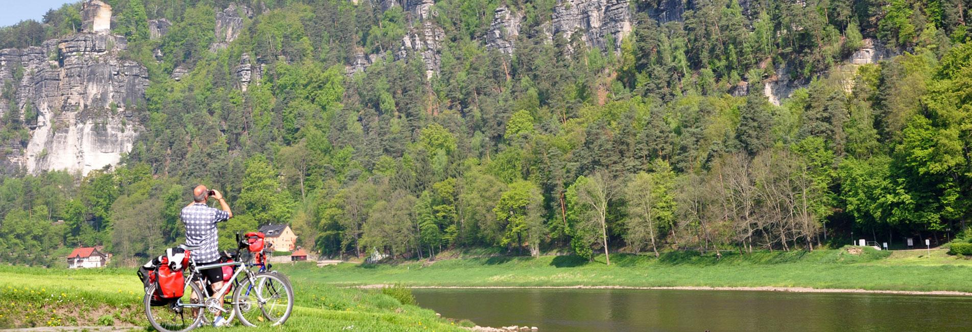 mit dem Rad'l die Sächsische Schweiz entdecken